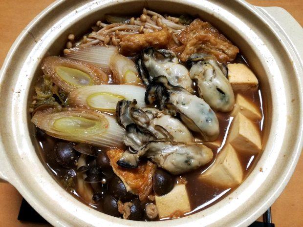 モニター様からのレシピ集「牡蛎の味噌鍋」