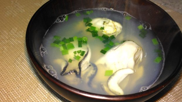 モニター様からのレシピ集「蒸し牡蠣のお味噌」