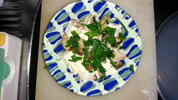 モニター様からのレシピ集「牡蠣としめじとお豆腐の炒め物」