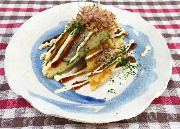 蒸し牡蠣 de レシピVol.3「蒸し牡蠣が美味い!大阪お好み焼き」【動画あり】