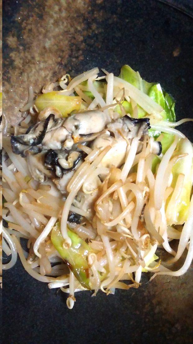 モニター様からのレシピ集「牡蠣と野菜の炒め物」