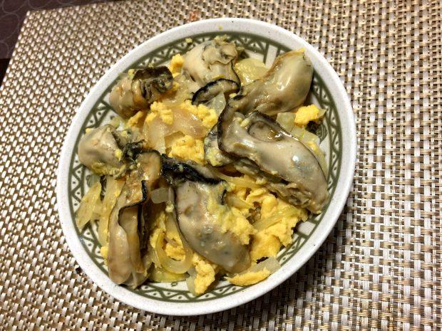 モニター様からのレシピ集「牡蛎の卵とじ」