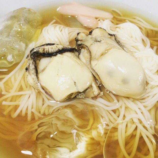 ぷるっと「冷やし牡蠣素麺」