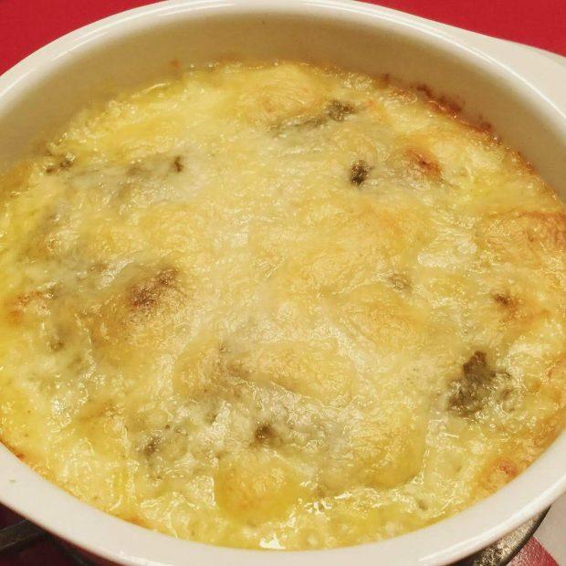 チーズ好きには堪らない♬牡蠣みそグラタンで旨味を閉じ込めちゃいました。