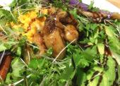 ダイエッター必見!モリモリ焼き野菜の牡蠣入りサラダプレート