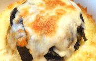 おつまみレシピ♪ 牡蠣みそとカマンベールチーズの重ね焼き