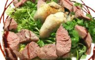 女性&ダイエッター必見!牡蠣とラムのヘルシーサラダ